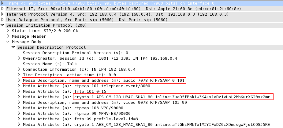Anthony Critelli - Hacking VoIP: Decrypting SDES Protected
